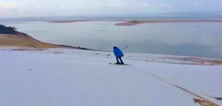 dune du pilat - ski