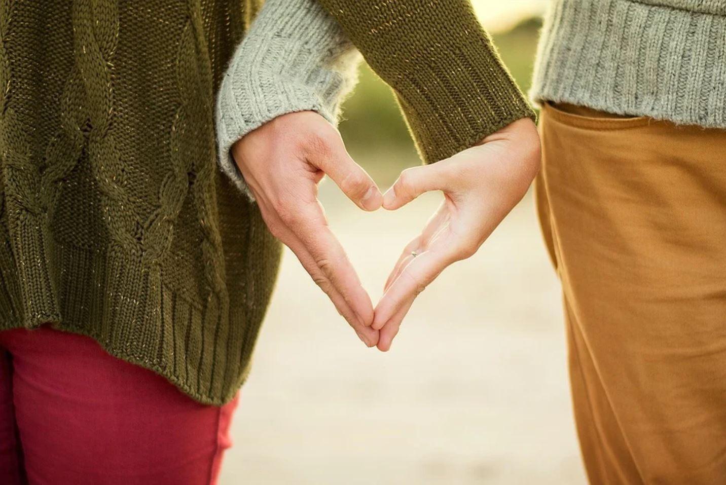 amour couple cœur