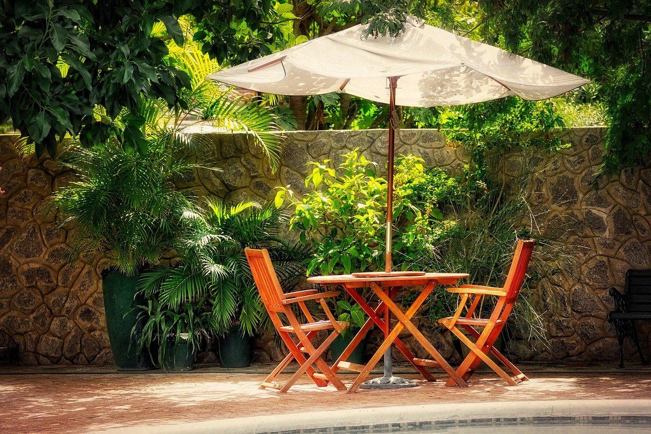 jardin - salon extérieur